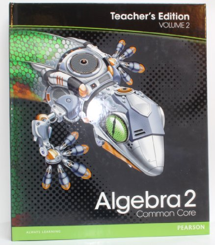 Algebra 2 TEACHERS EDITIONS VOLUME 2