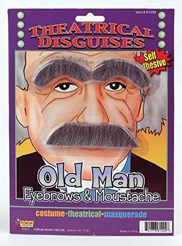 Forum Novelties Inc. Old Man Eyebrows And Moustache Accessory