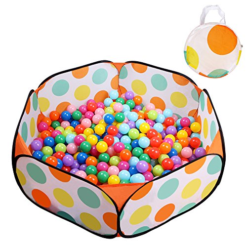 EocuSun Kids Ball Pit Playpen Ball Tent Toddler Ball Pit, 47.2-Inch with Zippered Storage Bag for Toddlers (Balls not Included) (Blow Up Play House compare prices)