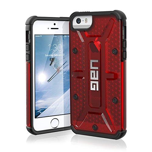 urban-armor-gear-iph5s-se-mgm-funda-para-apple-iphone-5-5s-5se-transparente-magma