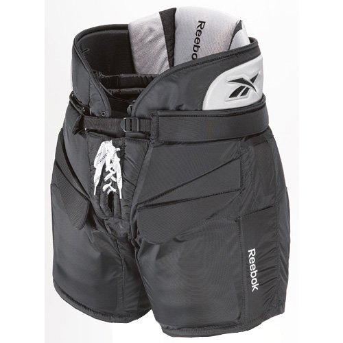 Maska - Reebok U.S. Inc 11K Intermediate Hockey Goalie Ice Pants - Black - Small (Reebok Hockey Pants compare prices)