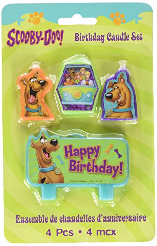 Amscan scooby doo birthday candle set