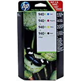 HP 940XL High Yield Officejet Ink Cartridge (Black / Cyan / Magenta / Yellow)