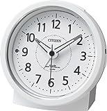 CITIZEN(シチズン) 電波目覚まし時計 エフライトR435 夜間自動点灯 ホワイト 4RL435-003