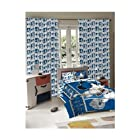 3 Piece Disney MLB Mickey Mouse Los Angeles Dodgers Microfiber Comforter Set Twin Size