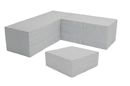 5 Pc. Urbana Sectional Patio Cover Set (HL-CVR-URBN-5SECT)