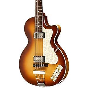 Hofner 500/2 Club Bass Guitar Sunburst