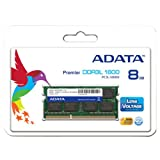 A-DATA Technology メモリ 8GB DDR3L Low Voltage SO-DIMM (1600) -512x8 リテールパッケージ ADDS1600W8G11-R