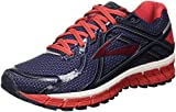 Brooks Men's Adrenaline Gts 16 Competition Running Shoes, Multicolor (Peacoat/High Risk Red/China Blue), 9.5 UK