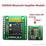 Xia Fly CSR8635 2x5W Bluetooth 4.0/4.1 Amplifier Board Audio Bluetooth 4.1 Receiver Module with Call Function