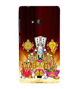 Tirumala Venkanna 3D Hard Polycarbonate Designer Back Case Cover for Lumia Lumia 540 :: Microsoft Lumia 540