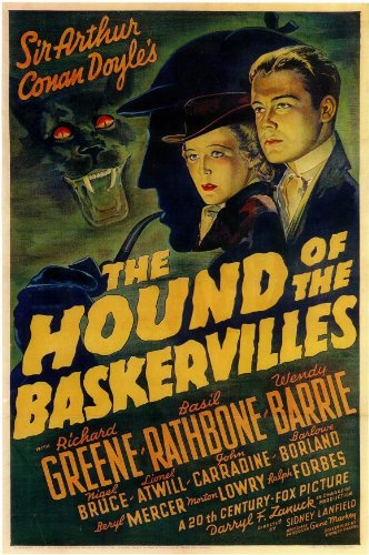 The Hound of The Baskervilles - Movie Poster - 11 x 17