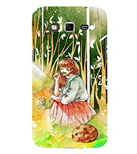 EPICCASE Nature's girl Mobile Back Case Cover For Samsung Galaxy Grand (Designer Case)
