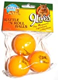 9 Lives the Morris Signature Collection – Rattle 'N Roll Balls, 3 Pack (1 Pack)