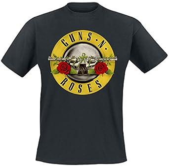 Guns N' Roses Distressed Bullet T-Shirt schwarz S