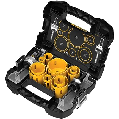 DEWALT D180005 14 Piece Master Hole Saw Kit from DEWALT