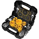 DEWALT D180005 14 Piece Master Hole Saw Kit