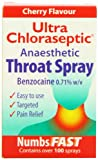 Ultra Chloraseptic Throat Spray Cherry - 15ml