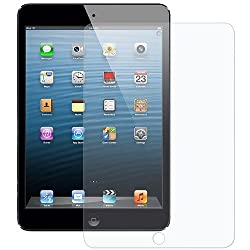 Amzer 94591 Super Clear Screen Protector with Cleaning Cloth for Apple iPad mini