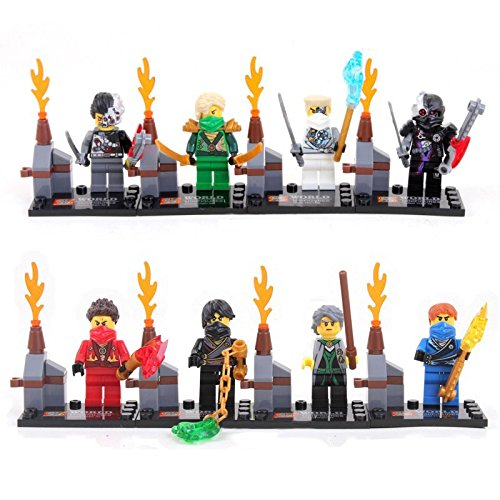 8 Figure/pcs ActionFigures MiniBlocks [TheFigure Superheroes NinjaBoy With Sword] Minifigures Educational Toys DIY Building Blocks Brinks Size 4.5-5cm. (Classic Car Soto compare prices)