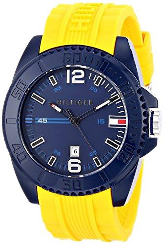 Tommy Hilfiger Men'S 1791043 Analog Display Quartz Yellow Watch