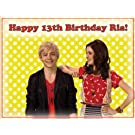 "Single Source Party Supply - Austin & Ally Edible Icing Image #1 - 8.0"" x 10.5"""
