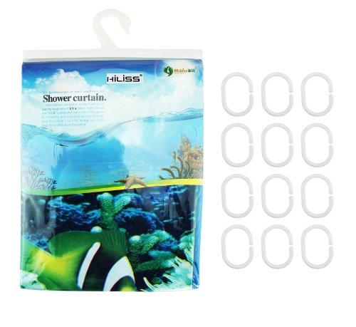... Dolphin Pattern Tropical Fish Coral Ocean Theme Bath Shower Curtain