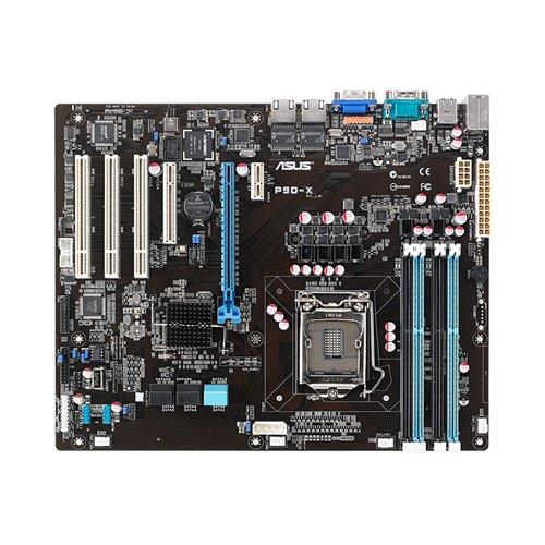 Asus P9D-X Server Board Socket LGA1150 (Intel C222 ATX, VGA, 2x LAN, U3, SATA III, DDR3 Speicher)