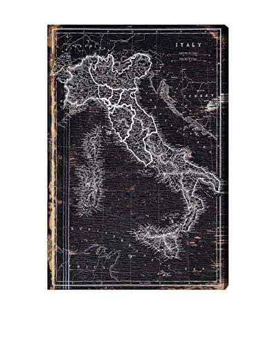 Oliver Gal Hatcher & Ethan 'Map of Italy 1873' Canvas Art