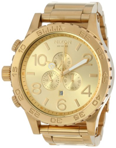 Nixon 51-30 Chrono Watch in All Gold Watch