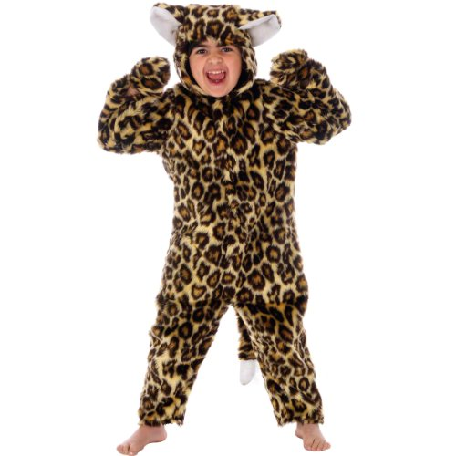 Leopard Costume for Kids 6-8 Yrs
