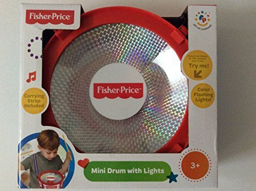 Fisher-Price Mini Drum with Lights - 1