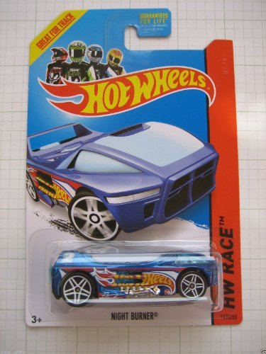 2014 Hot Wheels Hw Race - Night Burner - Treasure Hunt
