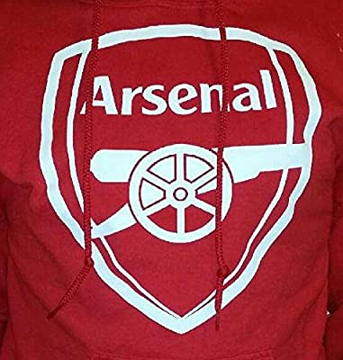 Arsenal FC Adult Red Soccer Football Hoodie Sweater