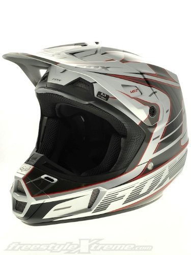 Fox Silver V2 Race 2013 MX Helmet