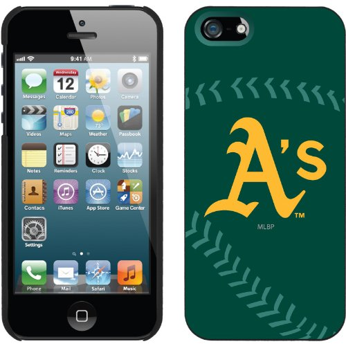 Great Sale Oakland Athletics - stitch design on iPhone 5 Thinshield Snap-On Case by Coveroo
