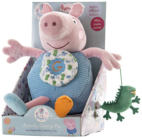 Peppa Pig Large Activity George Pig - 1