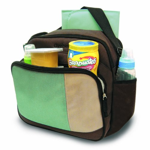 gerber colorblock cooler bag brown diaper bags babies. Black Bedroom Furniture Sets. Home Design Ideas