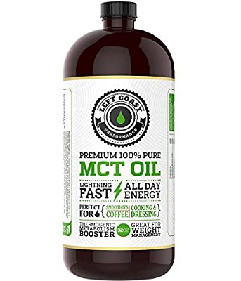 Left Coast Performance Coconut MCT Oil, 32 oz