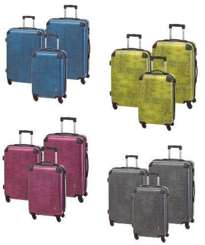 3tlg. Trolley Set San Marino Hartschale Koffer