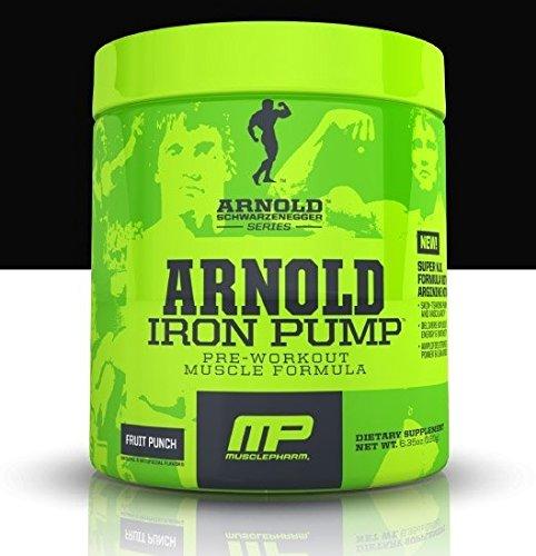 Iron Pump Fruit Punch - Arnold Schwarzenegger Series Pre-Workout - 30 Servings