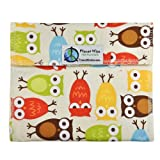 Planet Wise Reusable Sandwich Bag, Owls