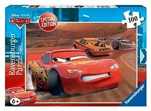 Ravensburger 10877 - Disney Cars: Lightning McQueen &S not Rod - 100 Teile Puzzle