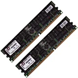 Kingston 4GB 2x 2GB DDR 333 MHz PC2700 DIMM CL2.5 184pin ECC REGISTERED for servers not desktops