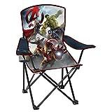 Marvel Comics Avengers Children's Folding Camp, Beach, Patio Chair