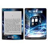 Diabloskinz Vinyl Adhesive Skin Decal Sticker for Amazon Kindle - Tardis