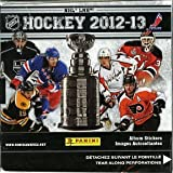 2012/13 Panini NHL Hockey HUGE Factory Sealed Sticker Box-50 Packs! BRAND NEW! HOT! A total of 350 Stickers !!Look for stickers of all the Biggest Stars and Rookies Including Sidney Crosby, Jonathan Toews, Dion Phaneuf, Alexander Ovechkin and Many Many more!!