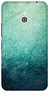 The Racoon Grip Blue Grunge hard plastic printed back case/cover for Nokia Lumia 1320
