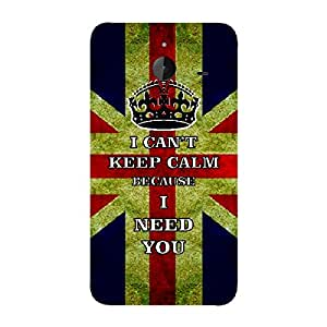 Skin4gadgets I CAN'T KEEP CALM BECAUSE I NEED YOU - Colour - UK Flag Phone Skin for MICROSOFT LUMIA 640 XL