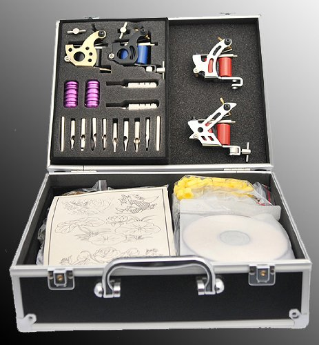 Comes With Practice Skin And Instruction DVD; Tattoo Kit Comes With